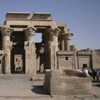 Mosque at Luxor temple - watch your step