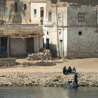 Nile village