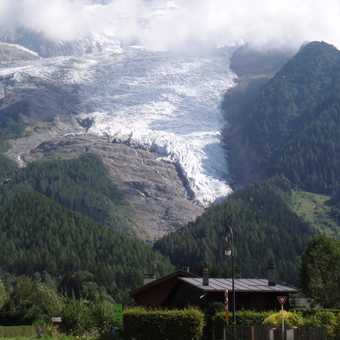 The Glacier from the chalet