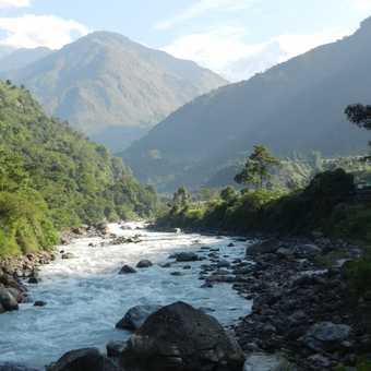 Marsyangdi river