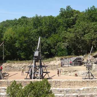 Trebuchets at Castelnaud