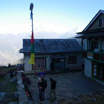 31/3 Camp at Pangkanga (2,850m) - about to set off from lodge