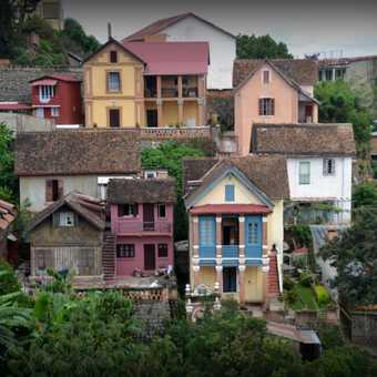 Old houses Antananarivo