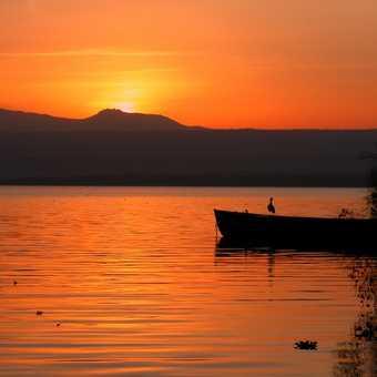Sun rise lake Naivasha