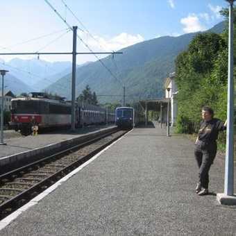 Day 4: Luchon Train Station