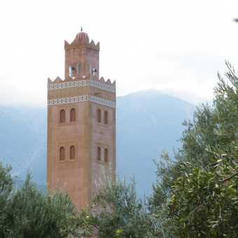 View from the Ksar Sharma, Ouirgane