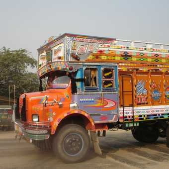 Decorated Lorry