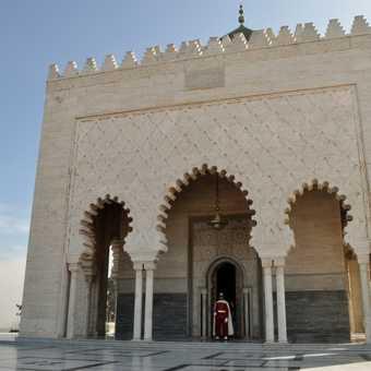 Rabat - Mohammed V Mausoleum