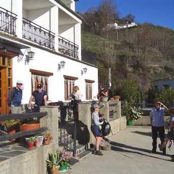 The hotel in Berchules