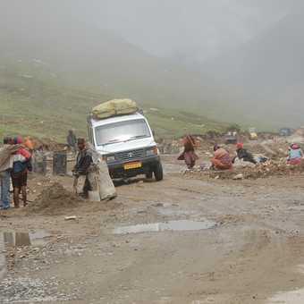 Mist on the Rhotang Pass