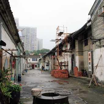 Tsang Residence on the Heritage Trail Hong Kong