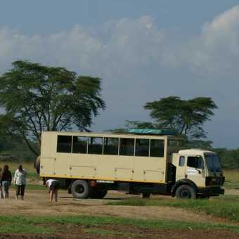 Photo stop at Lake Nakuru, Kenya