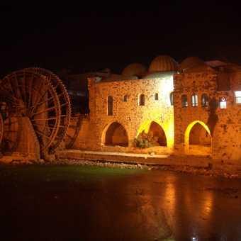 Waterwheels in Hama