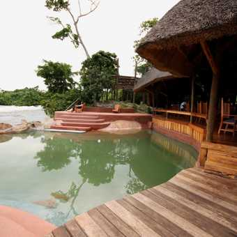 Wildwaters Lodge, overlooking the Nile River