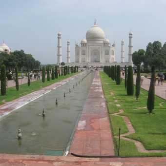 Trip to the Taj Mahal afterwards?...