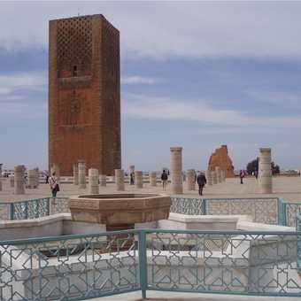 Titanium gates, Hassan 11 Mosque, Casablanca