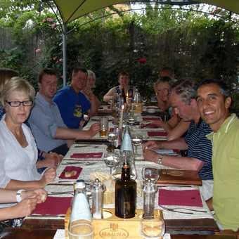 Dinner in San Quirico