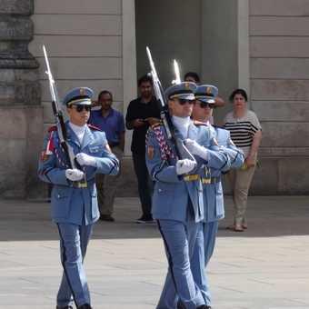 Changing the Guards Prague Castle