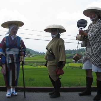 Traditional Japanese costumes, Magome