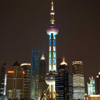 Shanghai in the dark