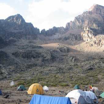 Mawenzi Tarn campsite