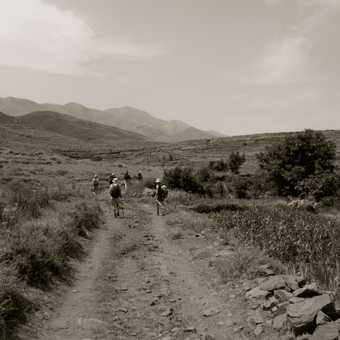 Through the Yagour Plateau