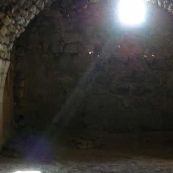 Sunbeam at Karak Crusader castle