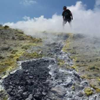 Sulphur deposits