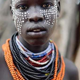 King of the Konso people