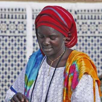 Street vendor in Marrakesh