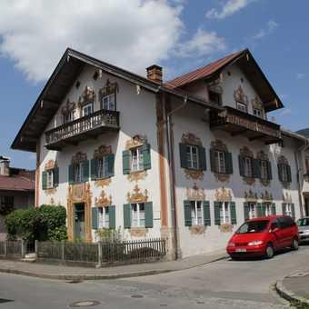 Frescos on Oberammergau houses
