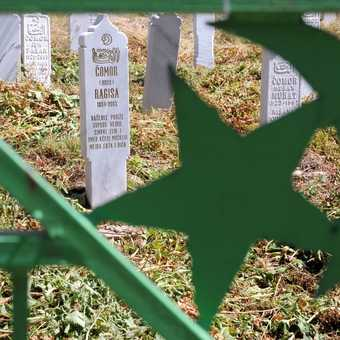 Lukomir Village Graveyard