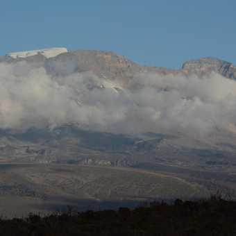 Kili summit peak