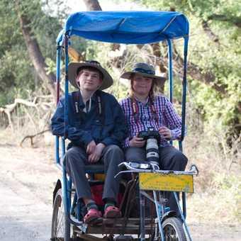 Cycle Ricksaw in Keoladeo National Park