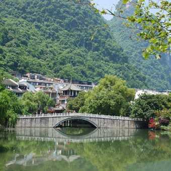Lake In Yangshuo