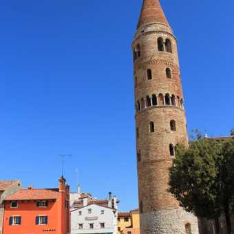 Leaning tower of Caorle