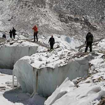 Everest Base Camp Glacier