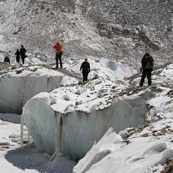 Everest Base Camp Glacier