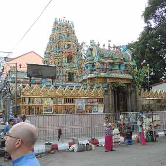 Hindu Temple Rangoon