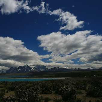 On route to Refugio, Torres del Paine.