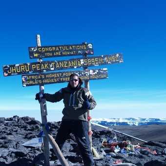 Summit At 5895 Mtrs