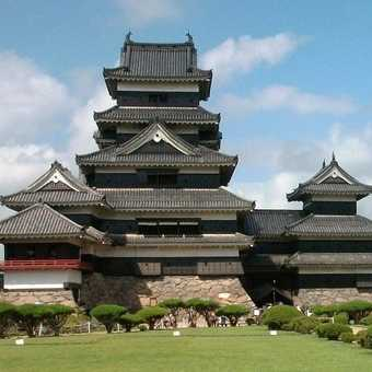 Crow Castle in Matsumoto