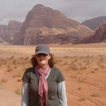 Holly in Wadi Rum