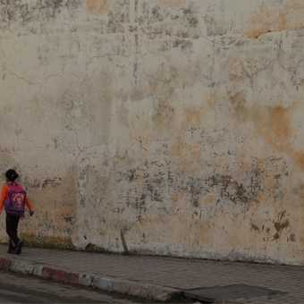 flag runners, plaza at Meknes.jpeg
