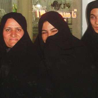 The lovely ladies of the bazaar . . . Yazd.
