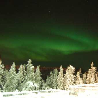 The famous Northern lights, New Years eve....wow!