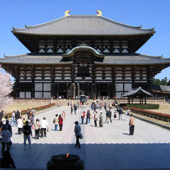 Todaiji Great Buddha temple in Nara