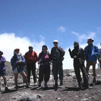 Near main crater rim on Etna