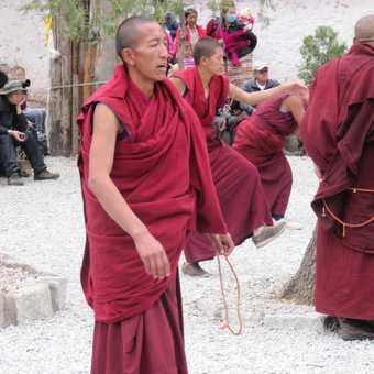 Monks debating