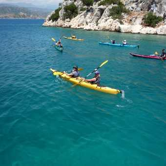 Sea Kayaking near Kekova